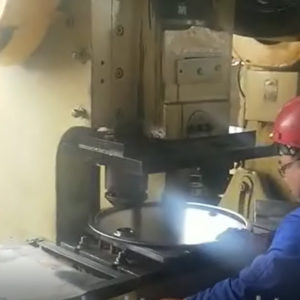 hole punching and locking