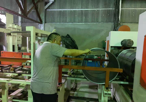 Drum machinery installation