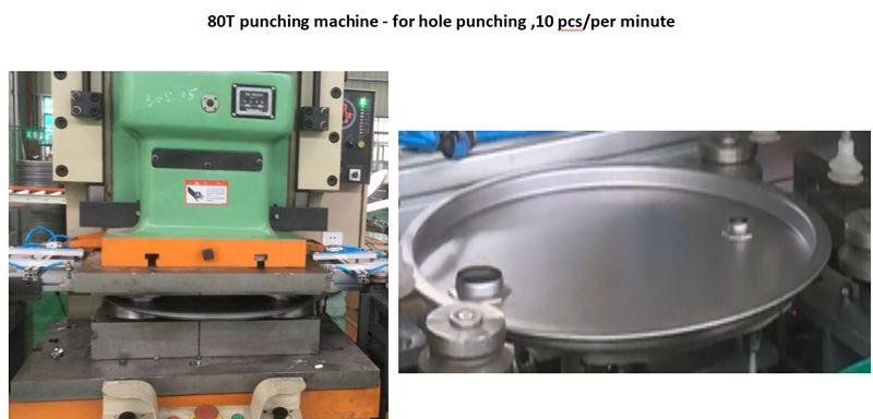 hole punching &locking machine