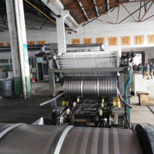 Steel drum cleaning machine