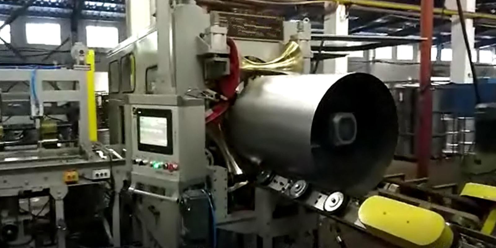 Fully Automatic Drum Body Welding Machine