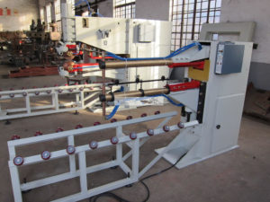 Drum body spot welding machine