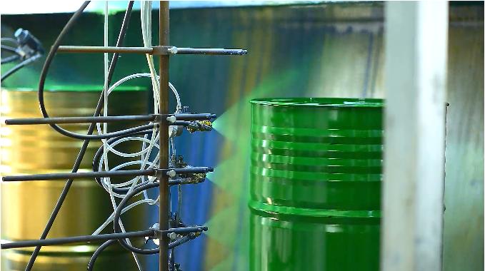 steel drum painting